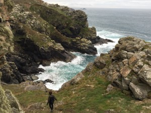 On the north Cornwall coastal path